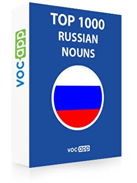 Russian Words: Top 1000 Nouns