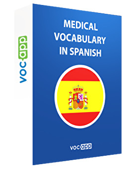 Medical vocabulary in Spanish