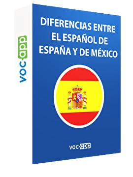 Diferencias entre el español de España y de México