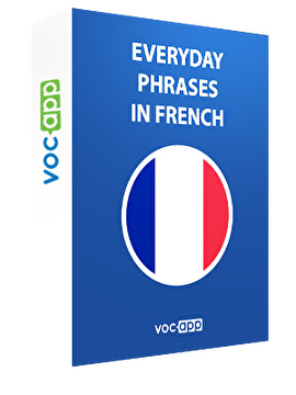 Everyday phrases in French