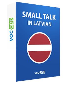 Small talk in Latvian
