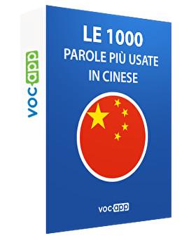 Le 1000 parole più usate in Cinese