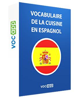 Vocabulaire de la cuisine en espagnol