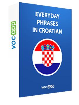 Everyday phrases in Croatian