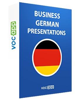 Business German - Presentations