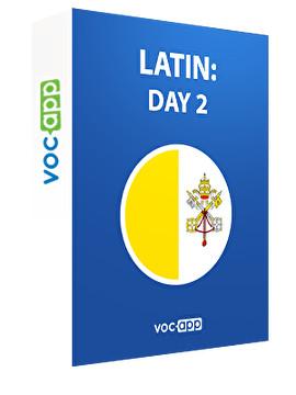 Latin: day 2