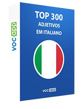 Top 300 adjetivos em italiano