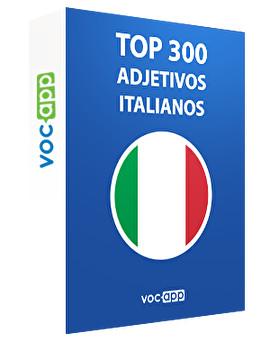 Top 300 adjetivos italianos