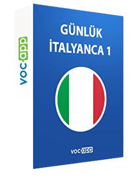 Günlük İtalyanca 1