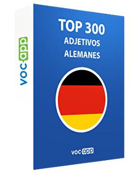 Top 300 adjetivos alemanes