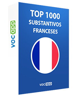 Top 1000 substantivos franceses