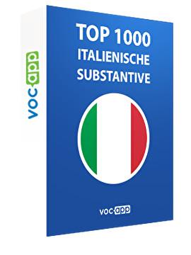 Top 1000 italienische Substantive