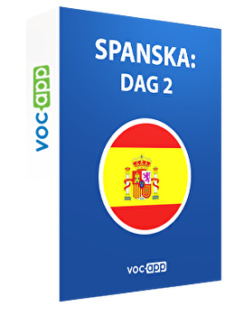 Spanska: dag 2