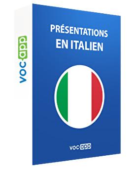 Présentations en italien