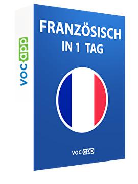 Französisch in 1 Tag