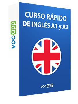 Curso rápido de inglés A1 y A2