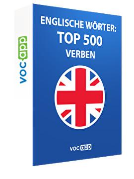 Englische Wörter: Top 500 Verben