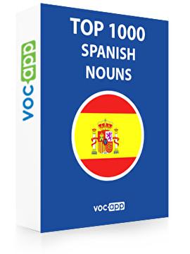 Spanish Words: Top 1000 Nouns