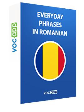 Everyday phrases in Romanian