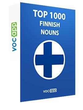Top 1000 Finnish Nouns