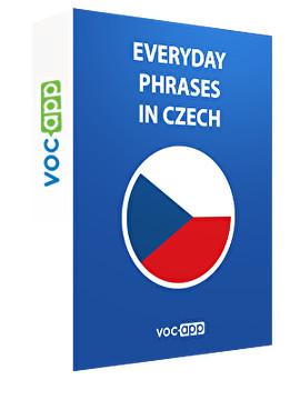 Everyday phrases in Czech