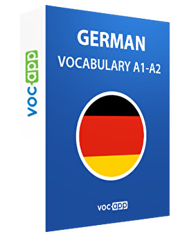 German A1 - A2 vocabulary
