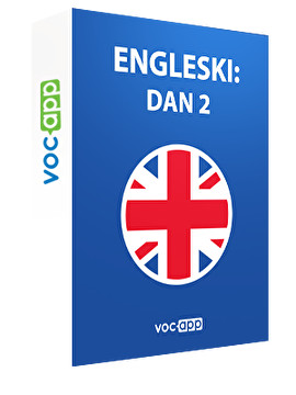 Engleski: dan 2
