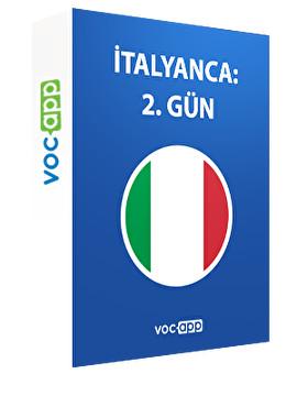 İtalyanca: 2. gün