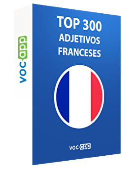 Top 300 adjetivos franceses