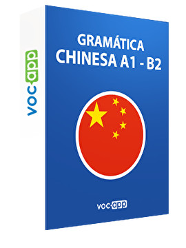 Gramática chinesa A1 - B2