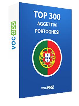 Top 300 aggettivi portoghesi