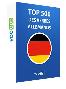 Top 500 des verbes allemands