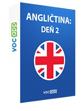 Angličtina: deň 2