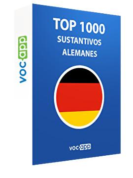 Top 1000 sustantivos alemanes