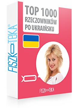 1000 najważniejszych rzeczowników po ukraińsku
