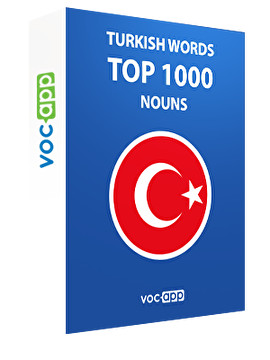 Turkish Words: Top 1000 Nouns