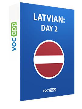 Latvian: day 2