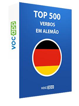Top 500 verbos em alemão